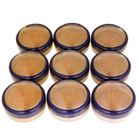 Translucid Loose Powders and Bronzers